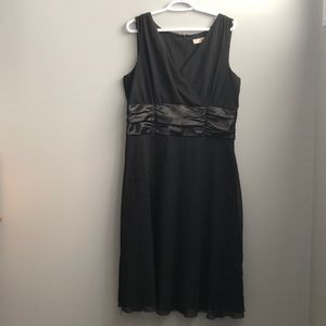 Cute black little a-line dress